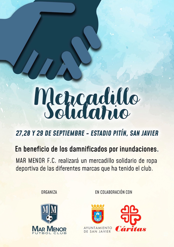 Mercadillo Solidario Mar Menor FC 2019