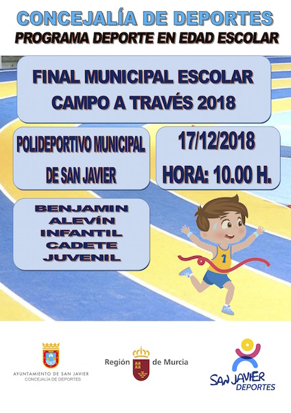 Deporte Escolar. Final Municipal Campo a Través 2018