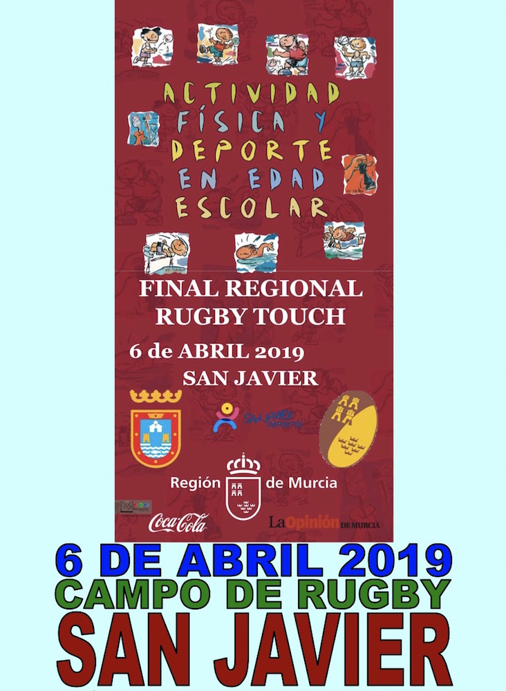 Deporte Escolar. Final Regional Rugby Touch 2019