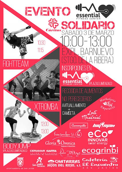Fitness Evento Solidario Essential